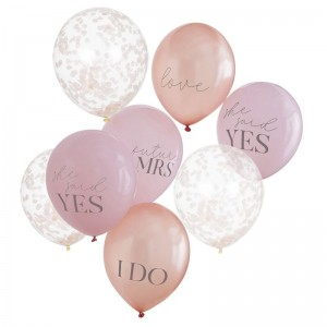 Hen Party Balloons Mixed 8pk