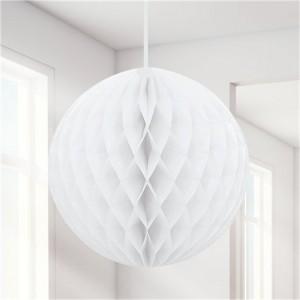 Honeycomb Ball - White 20cm