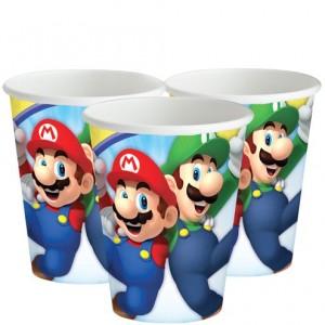 Super Mario Paper Cups