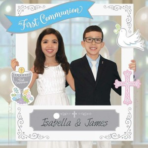 First Holy Communion Selfie Frame