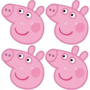 Peppa Pig Face Masks