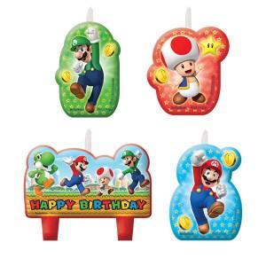Super Mario Candles