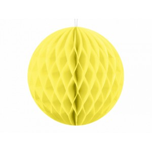 Honeycomb Ball - Light Yellow - Mini 10cm