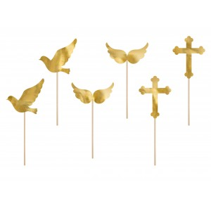 First Holy Communion Cupcake Toppers