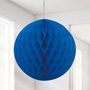 Honeycomb Ball - Blue 20cm