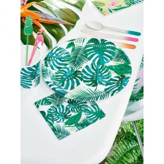 Tropical Leafy Napkins