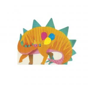 Dinosaur Shaped Napkins