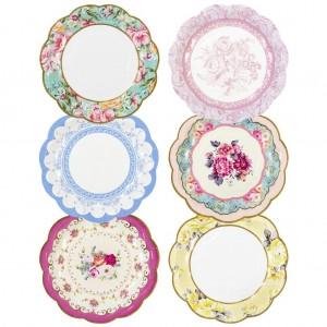 Vintage Design Paper Plates