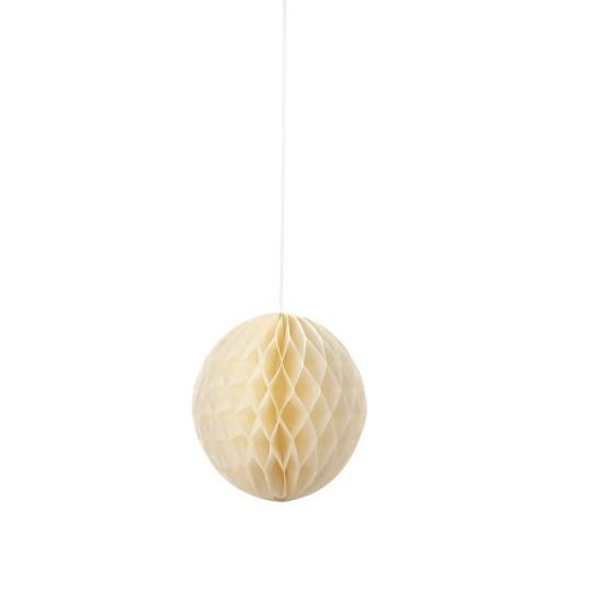 Trio of Honeycomb Decorations - Blush