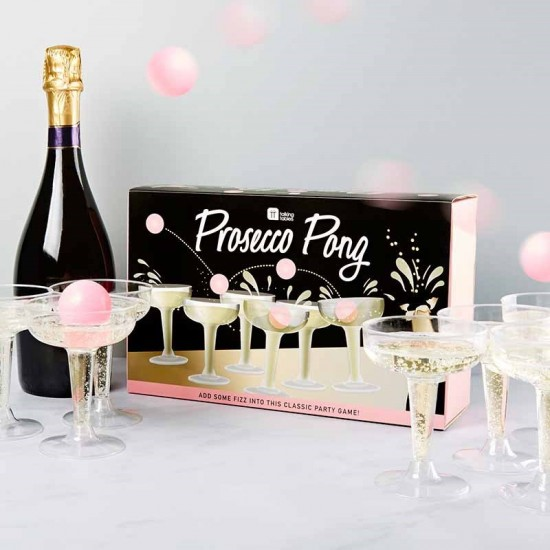 Prosecco Pong - The Classy Party Game!