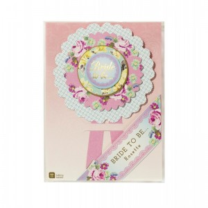 Truly Hen 'Bride To Be' Rosette