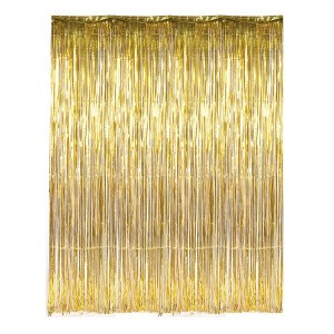 Glitterati Gold Foil Curtain