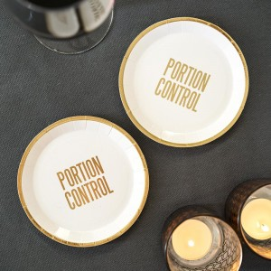 'Portion Control' Canape Paper Plates