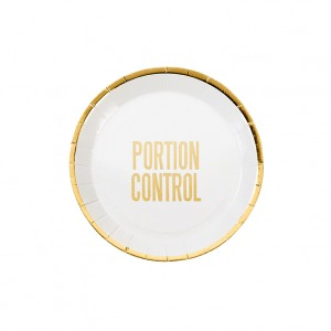 Portion Control - Canape Paper Plate