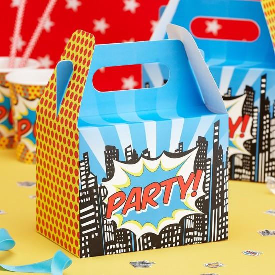 Superhero Party Boxes