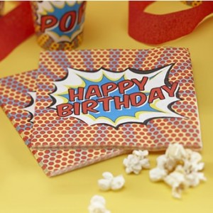Superhero Party Napkins