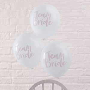 Hen Party Balloons 'Team Bride'