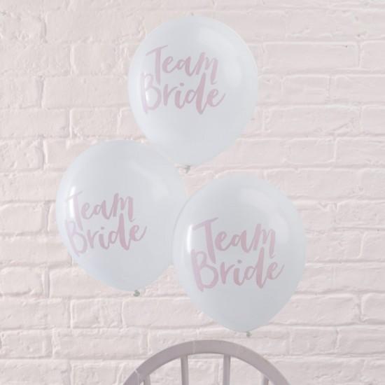 Hen Party Balloons 'Team Bride'