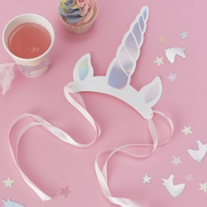 Unicorn Horn Headbands 8pk