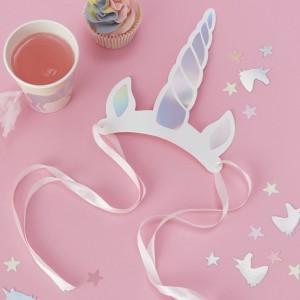 Unicorn Horn Headbands 8pk