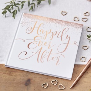 'Happily Ever After' Wedding Guest Book