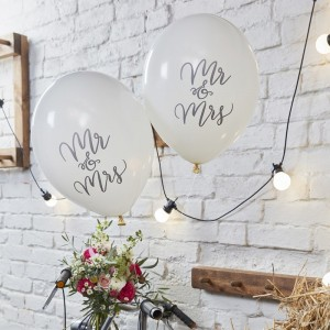 Mr & Mrs Balloons  10pk