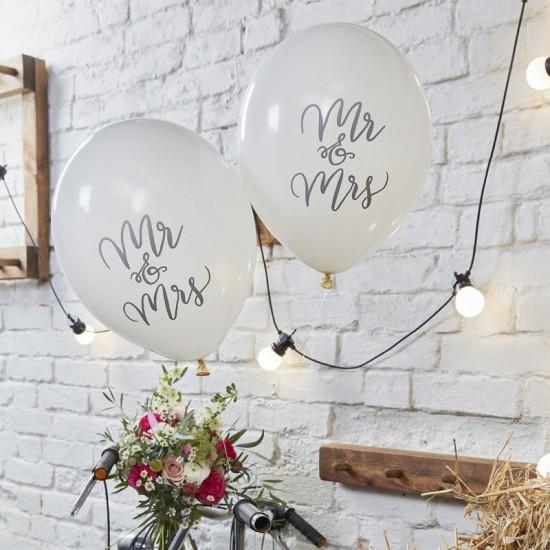 Mr & Mrs Balloons  10pk