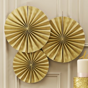 Party Pinwheels Gold