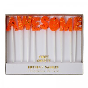 Birthday Candles - Awesome