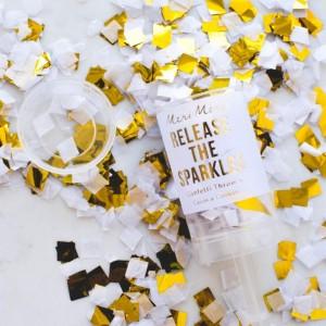 Confetti Popper - Gold