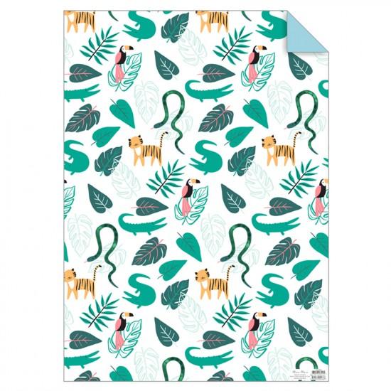Gift Wrap - Go Wild 1 Sheet
