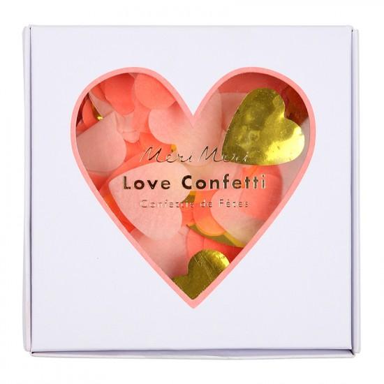 Confetti Box - Heart Shaped