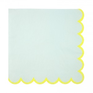 Mint Pastel Large Napkins