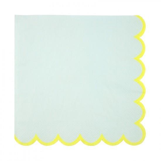 Mint Pastel Large Napkins